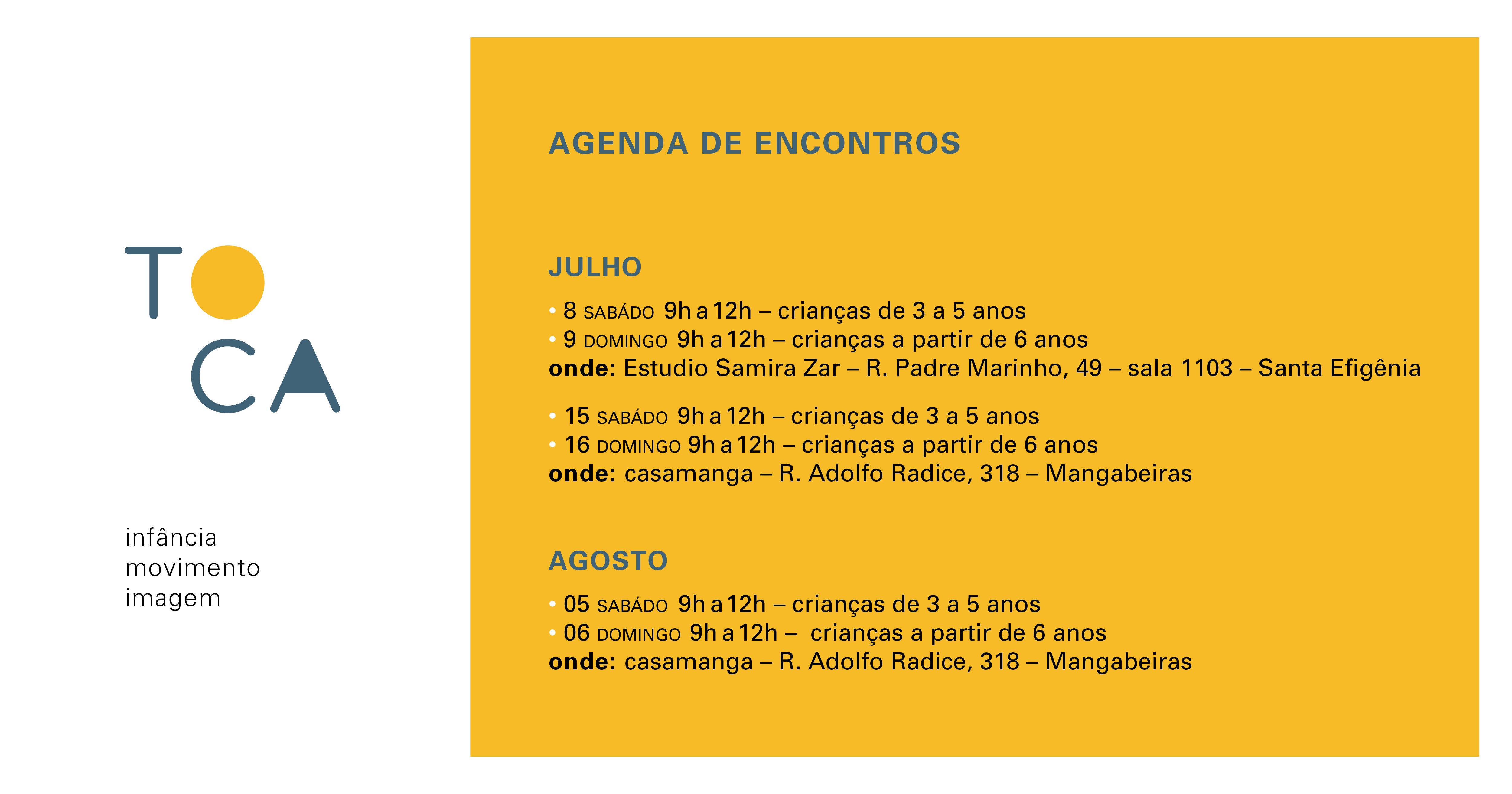 agenda pra facebook